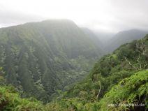 Saftig grüne Bergrücken
