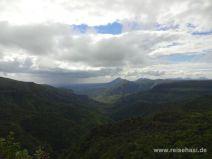 Black Gorges Nationalpark im Regen