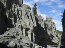 Putangirua Pinnacles im Süden der Nordinsel