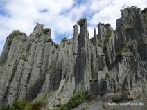 Putangirua Pinnacles im Süden der Nordinsel