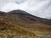 Mount Ngauruhoe im Tongariro Nationalpark