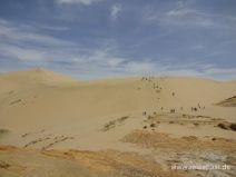 Eine der Giant Sand Dunes