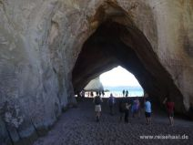 Felstunnel der Cathedral Cove
