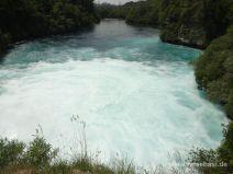 Becken unterhalb der Huka Falls