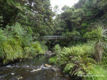 Idyllische Brücke