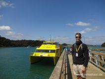 Angelegt in der Otehei Bay