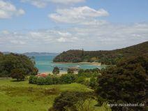 Aussicht auf die Otehei Bay