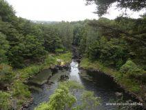 Becken unterhalb der Rainbow Falls