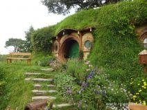 Hobbithaus mit Garten