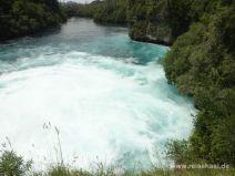 Becken unterhalb des Wasserfalls