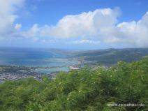 Aussicht vom Koko Head auf O'ahu