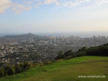 Aussicht auf Honolulu vom Pu'u Ualaka'a State Park auf O'ahu
