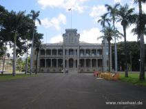 Iolani Palace in Honolulu auf Oahu