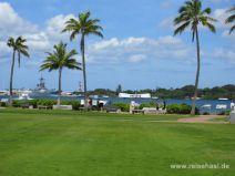 Gelände in Pearl Harbour auf Oahu