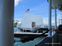 Memorial in Pearl Harbour auf Oahu