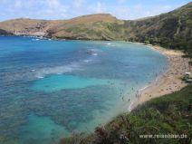 Hanauma Bay auf Oahu