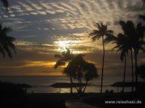 Sonnenuntergang in Ko'olina auf O'ahu