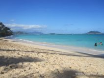 Lanikai Beach auf O'ahu