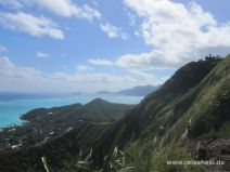 Pillbox Trail in Lanikai auf O'ahu