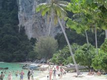 Strand auf Phi Phi Don