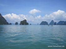 Bucht von Phang Nga in Thailand