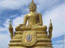 Goldener Buddha auf Phuket
