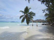 Strand Côte d'Or auf Praslin