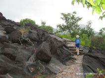 Wanderweg auf La Curieuse