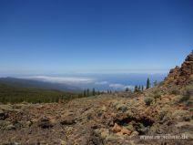 Aussicht bis nach La Palma