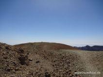 Gipfel der Montaña Blanca