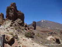 Felsfinger mit Teide