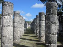 Säulengang in Chichén Itza