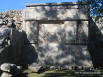 Steinverzierungen in Chichén Itza