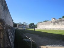 Ballspielplatz in Chichén Itza