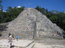 Große Pyramide in Coba