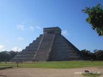 Pyramide in Chichén Itza
