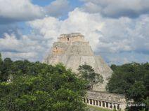 Pyramide in Uxmal