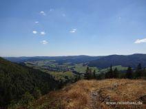 Der Blick Richtung Alpen