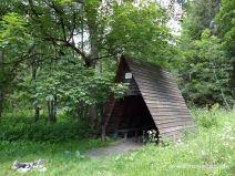 Schutzhütte im Steinbachtal