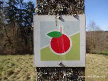 Früchtetrauf Markierung