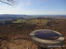 Gipfel des Dreifürstenstein