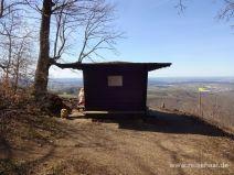Schutzhütte auf dem Dreifürstenstein
