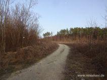 Breiter Wanderweg