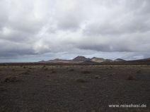 Timanfaya-Berge vom Parkplatz aus