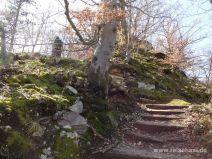 Ein paar Treppenstufen