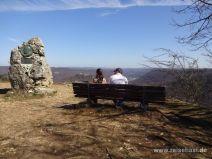 Aussichtspunkt auf dem Rutschenfelsen