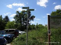 Am Wanderparkplatz Kirchhalde