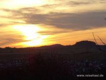 Sonnenuntergang über Wurmlingen